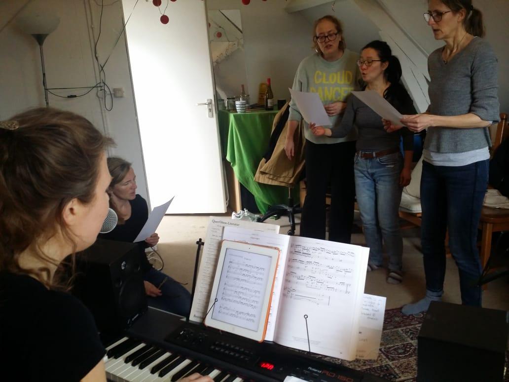 Martie, Maartje Rikhof, zanglessen Rotterdam